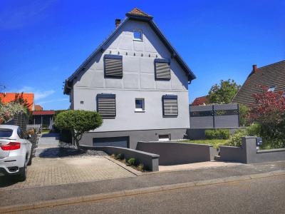 maison ravalement de façade Eckwersheim